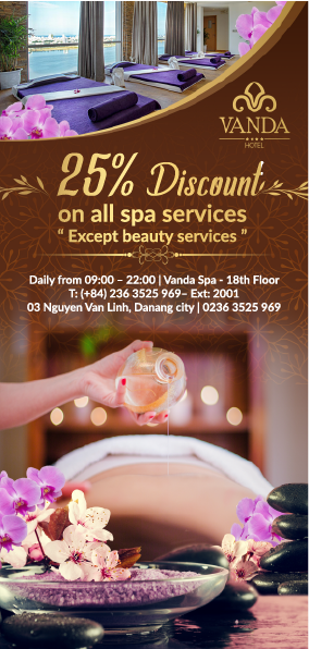 flyer 25% spa