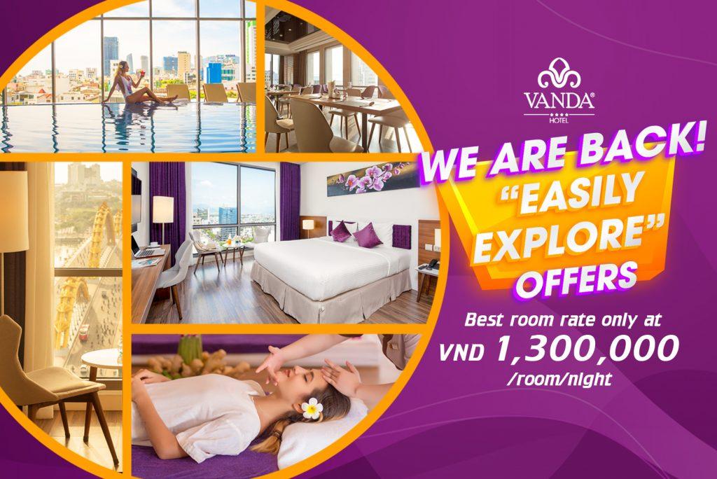 Vanda Hotel Danang - special offer